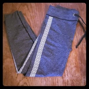 Pants - Gray and white leggings